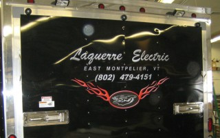 Vehicle Lettering – Laquerre Electric