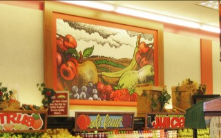 Printed Produce Graphic