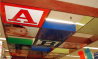 Store Signage – Baby Ceiling Unit