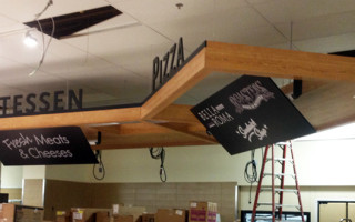 Store Signage – Deli/Pizza Unit