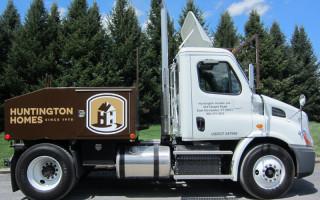 Vehicle Lettering – Huntington Homes