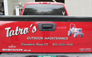 Vehicle Lettering – Tatro's