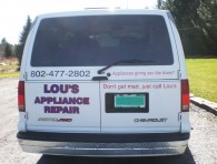 Vehicle Lettering – Lou's