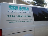 Vehicle Lettering – Splash