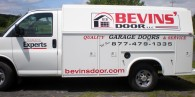 Vehicle Lettering – Bevin's Door