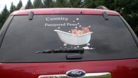 Lettered Vehicle