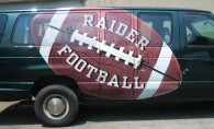 Digital Print – Football Van Wrap