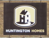 Huntington Homes – Engraved Sign