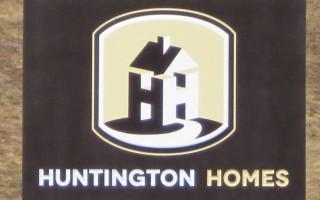 Huntington Homes – Engraved Sign