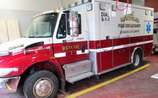 Ambulance Vehicle Lettering