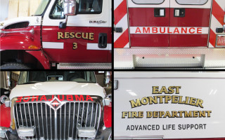 Ambulance Vehicle Lettering