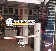 World Cup Boston Window Vinyl