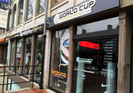 World Cup Boston Exterior Signage
