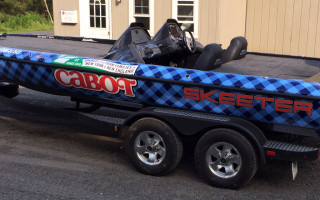 Cabot Creamery Boat Wrap