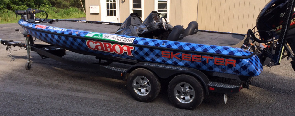 Cabot Creamery Boat Wrap