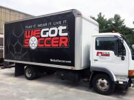 We Got Soccer Truck Wrap