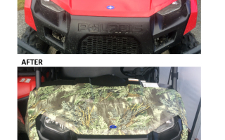 Before & After Polaris Wrap
