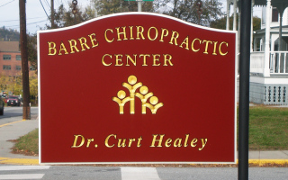 Chiropractic Center Sign