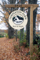Templeton Farm Sign