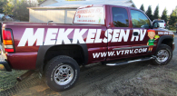 Mekkelsen RV Vehicle Lettering