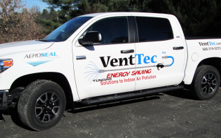 Vent Tec Vehicle Lettering