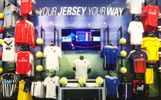 Custom Jersey Wall