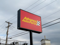 Advance Auto Parts Illuminated Sign
