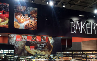 Bakery Department Signage