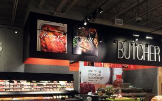 Butcher Department Signage