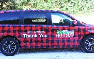 Cabot Van Wrap