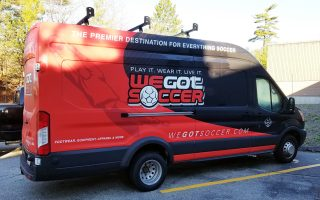 We Got Soccer Van Wrap